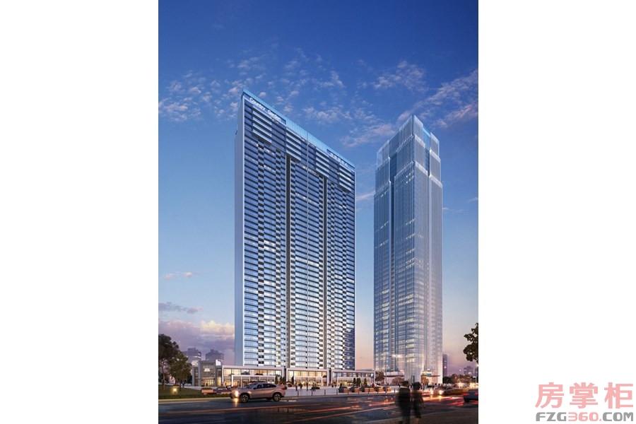 超高层公寓效果图