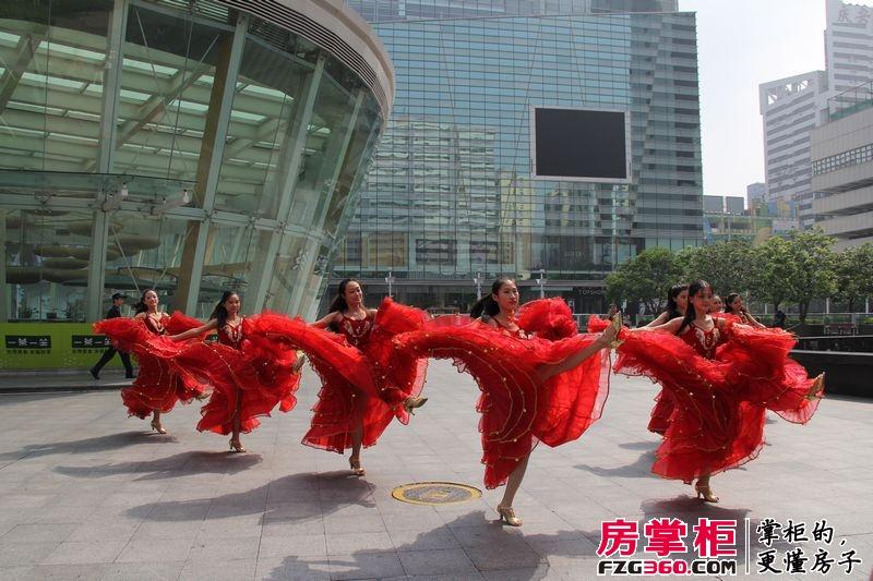佳兆业东江新城西班牙风情舞蹈快闪