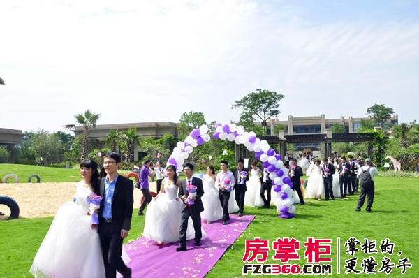 珑湖湾东岸集体婚礼