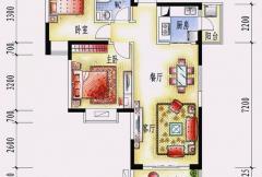 碧桂园十里银滩海景洋房2号楼C1户型
