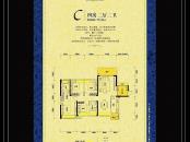 东江新城三期凯撒帝景C户型图