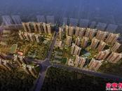中洲天御鸟瞰效果图