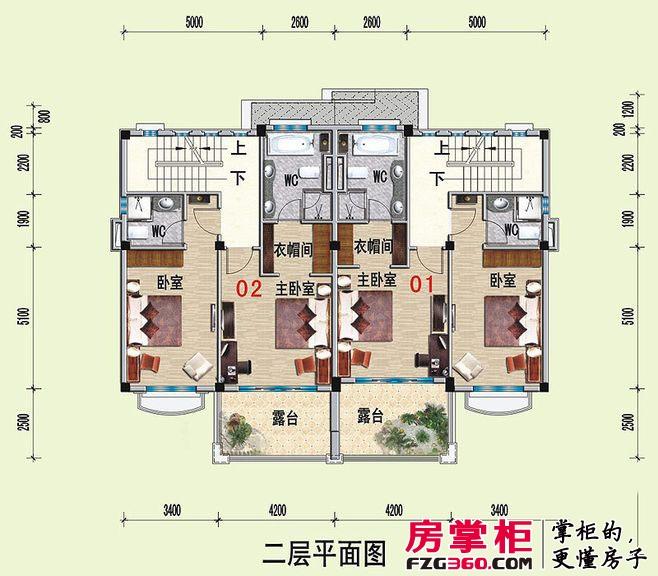 山河城G25栋二层平面图