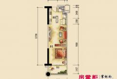 碧桂园十里银滩 临海公寓01A户型图0702