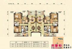 惠阳碧桂园山河城洋房J36户型图02/03户型