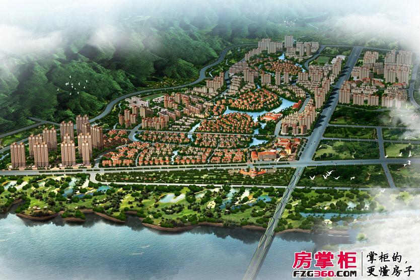 佳兆业东江新城效果图