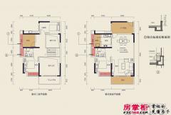中洲天御2期新品E户型-136平3+1户型