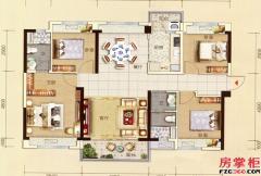 碧桂园太东公园上城-B户型-4室2厅1厨2卫