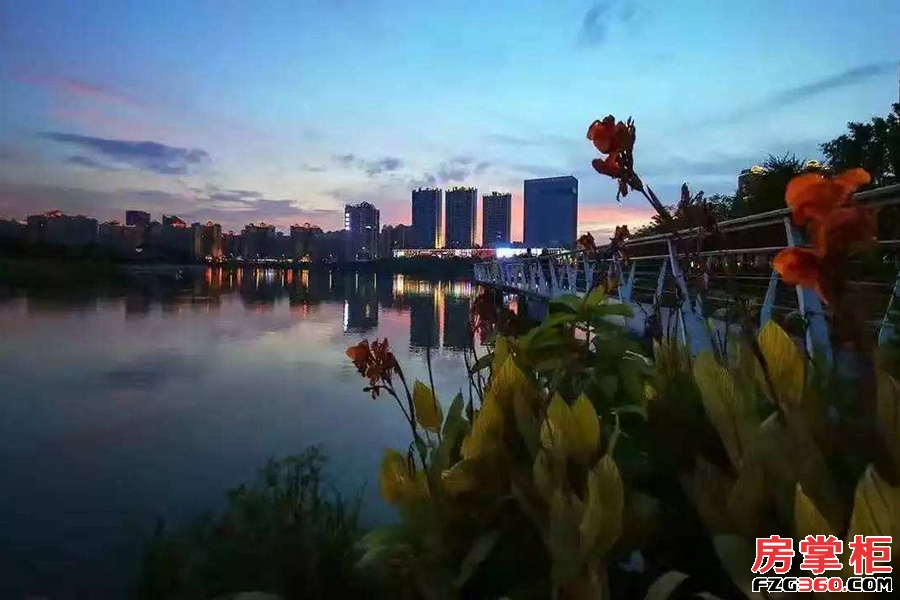 泰丰千花岛周边配套实景拍摄