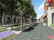 商业街效果图