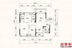B1户型-120平米-3房2厅2卫