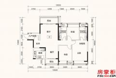 C1户型-125平米-3房2厅2卫