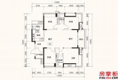 D3户型-140平米-4房2厅2卫