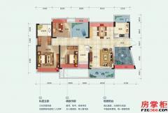 8栋C户型-122平米-3房2厅2卫