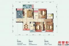 15栋D户型-107平米-3房2厅2卫