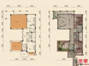 G户型-301㎡-8室3厅5卫2厨-2层