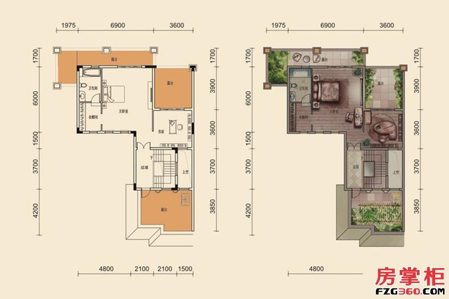 G户型-301㎡-8室3厅5卫2厨-3层