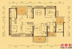 六期D2-D7/D12/D19栋D1户型-132�O-3房2厅2卫
