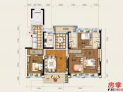 24栋S2户型-142㎡-4房2厅2卫