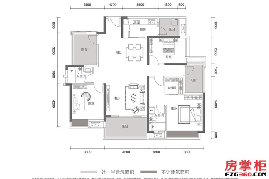 T12-L01号-142㎡-3房2厅2卫