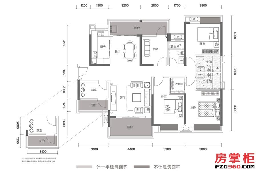 T12-M0102-167㎡-5房2厅3卫