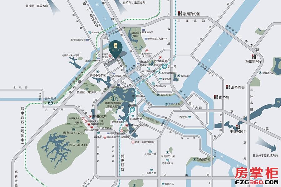 西子湾-交通图