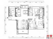 15栋-01户型-134㎡-4房2厅2卫