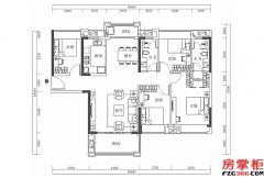 15栋-01户型-134�O-4房2厅2卫