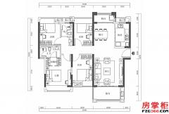15栋-03户型-123�O-4房2厅2卫