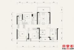 7栋03户型-107�O-3室2厅2卫