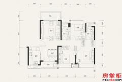 7栋04户型-107�O-3室2厅2卫
