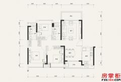 8栋03户型-107�O-3室2厅2卫