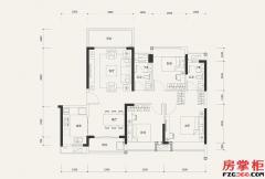 8栋04户型-107�O-3室2厅2卫