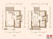 A1户型-95㎡-3房2厅2卫