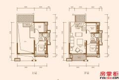 A1户型-95�O-3房2厅2卫