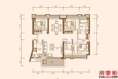 B1户型-101�O-3房2厅2卫