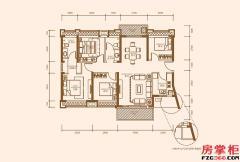 C1户型-132�O-4房2厅2卫