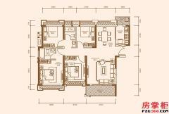 C2户型-131�O-4房2厅2卫