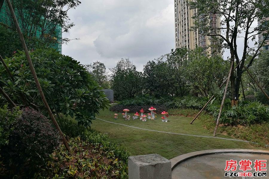 万城名座二期-园林实景