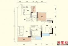 A户型-79�O-2房2厅1卫