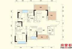C户型-98�O-3房2厅2卫