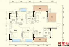 D户型-110�O-3房2厅2卫