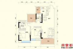 E户型-90�O二房二厅二卫