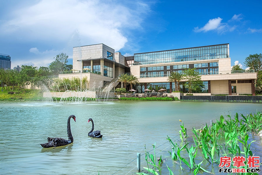 泰丰牧马湖-最新园林实景