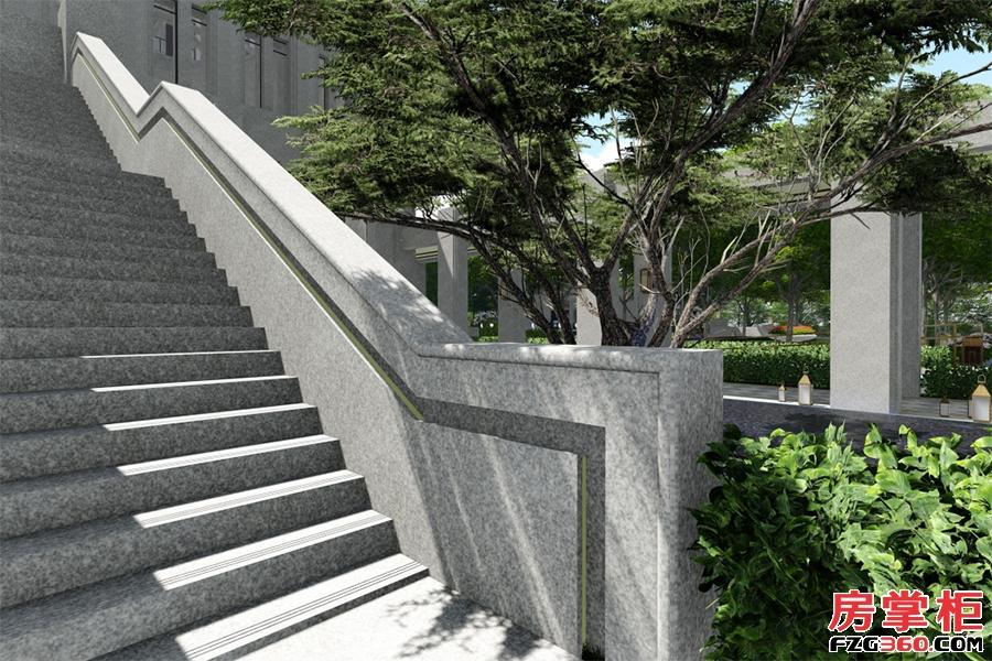 家路壹号-园林效果图