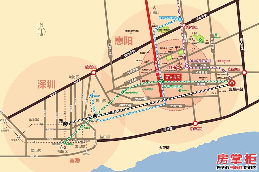 家路壹号-区位交通图
