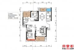 B户型-101�O-3房2厅2卫