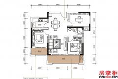 C户型-91�O-3房2厅1卫