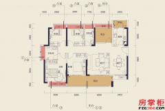 C13栋C户型-134�O-5房2厅2卫