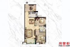 A2户型-81�O-2房2厅1卫